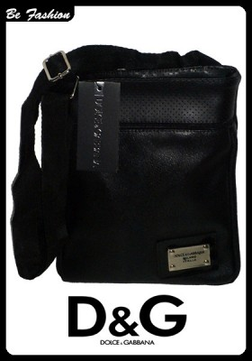 MEN'S LEATHER BAG DOLCE&GABBANA (0182DG)