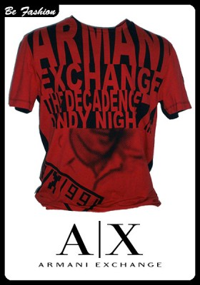 MEN'S T-SHIRT ARMANI EXCHANGE (0193AX)