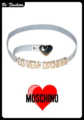 WOMEN LEATHER BELT MOSCHINO (0203MSC)