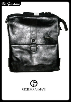 MEN LEATHER BAG GIORGIO ARMANI (0207GA)
