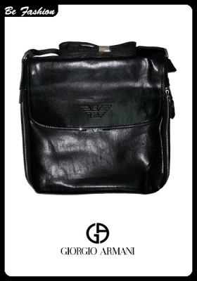 MEN LEATHER BAG GIORGIO ARMANI (0208GA)