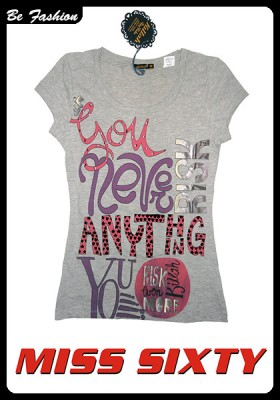 WOMEN T-SHIRT MISS SIXTY (214M60)