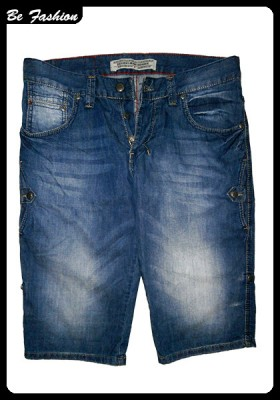 MEN SHORT JEANS ZU ELEMENTS (0302ZU)