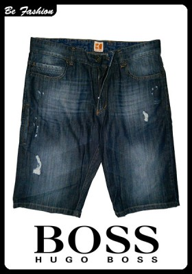 MEN SHORT JEANS BOSS ORANGE (0304BS)