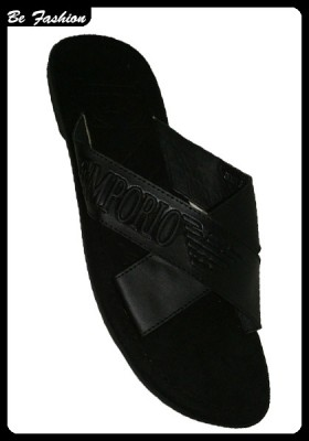MEN SLIPPERS EMPORIO ARMANI(0411EA)