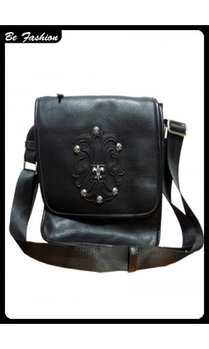 MAN LEATHER BAG PHILPP PLEIN (0644PP)