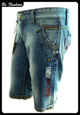 MEN SHORT JEANS MIDPOINT (0854MP)